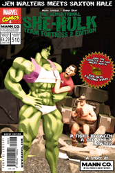 Sensational She-Hulk Comic Issue 510 - CEO VS. JEN by Mark-Unread