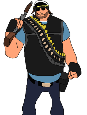 [D-OC]: Officer Heavy by Spongecat1