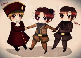 APH: 2pHre, 2pItaly, and 2pRomano by Blissyanya