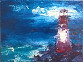 Lighthouse by haetherpetal