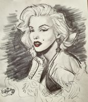 Cinematic: Marilyn Monroe by ElectricDawgy