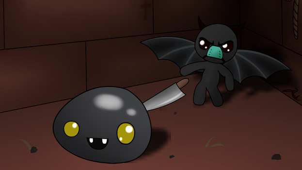 Fanart - Binding Of Isaac by 8darknesss8