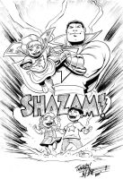 Shazam commission by Miketron2000