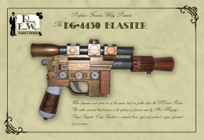 The DG-4450 Blaster by davincisghost