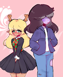 Noelle x Susie by qqqal