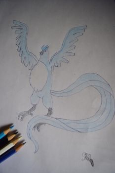Articuno shiny by Bloodwolfrider