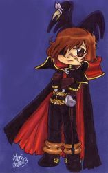 Captain Harlock by Nae-chan