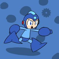 Super Smash Bros 011-Megaman by Guuguuguu