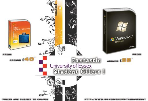 University of Essex Flyer 1 by s3n5o2