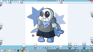 Underswap Sans Shimeji 2.0! [DOWNLOAD] by URAdoodlelover2