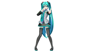 DT Extend Default Miku (DL) by Yuaruma