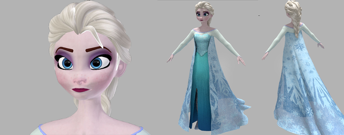 Elsa Remodeling ( Almost done ) by King-Of-Snow