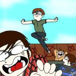Fun with the Trampoline (Marble Hornets) by Sl3nd3rv3rs3Trash