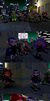 Chaos in Inkopolis part 4: Dark Encounter by DarkMario2