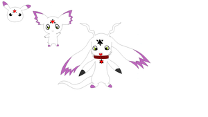 culumon evolution and pre evolution design by yumethenekomata