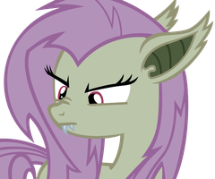 Flutterbat Face 2 by Oalis