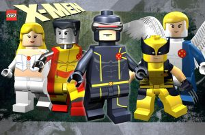 Lego X-men by mikenap22