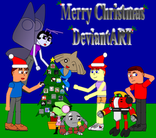 Merry Christmas Deviantart by Pokelord-EX