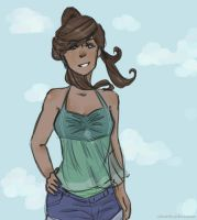 Summer Korra for your Winter by olivarchy