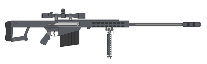Barett M107 by RenegadeTH