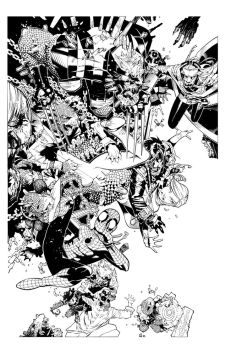 X-Men 10 cover by TimTownsend