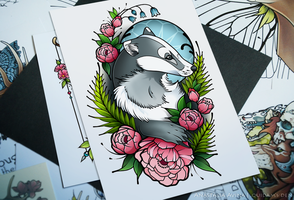 Badger by quidames