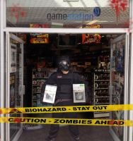 Resident Evil 6 Launch at gamestation by ECTO87