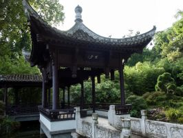 STOCK Chinese house 1 by Inilein