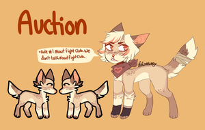 Fight club auction by Kyloita