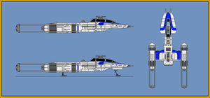 BTL-S3 Y-Wing Fighter Bomber Armored by wingzero-01-custom