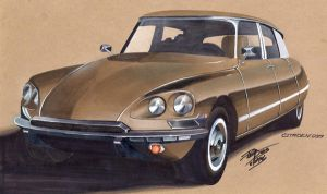 Citroen DS19 Pt.2 by PPLBLISS