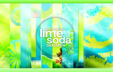 Textures | Lime Soda || by Alternxtive by alternxtive