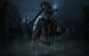 The Scarecrow.. by AledJonesDigitalArt