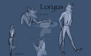 Concept art:loryus by gingaparachi