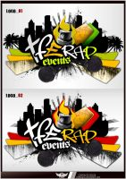 TFE RAP EVENTS LOGO by Undesigns