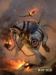 Mania chained beast Realm of Duels (Red Deck) by GreyHues