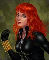 Black Widow by izandra
