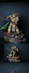 Mortarion the Primarch of the Death Guard by MushaMurron