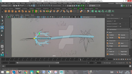 Keyblade wip by CaxceberXVI
