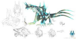 Ellen 1st Form - Tyrant Form by sinlaire