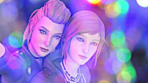 Life is Strange-Rachel and Chloe by ICYCROFT