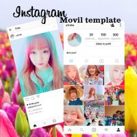 Instagram movil template (Actualizada) by IsaGall