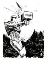 ROM, Spaceknight by JasonCopland