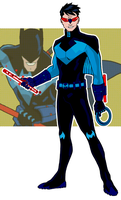 Nightwing redux by onecoyote