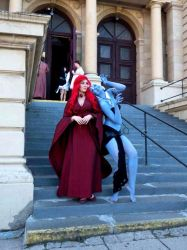 Kida and Ariel (as Night King and Red Priestess) by tajfu