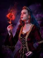 The Flame of Love by EstherPuche-Art