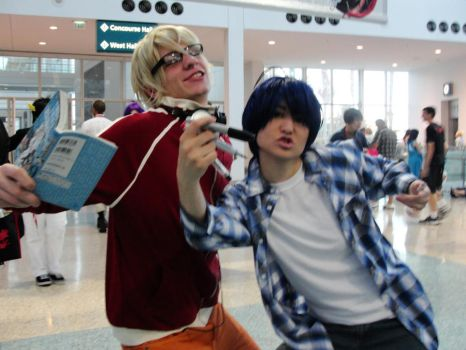 Bakuman at AX by SimplySaraArt