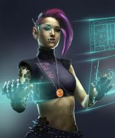 hacker Zer0 by PascaldeJong