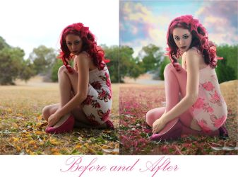 Before and After Think Pink by Arthur-Ramsey
