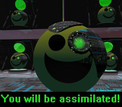 Smiley Borg by Ack42